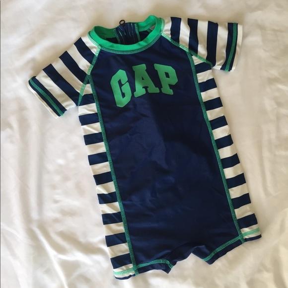 1ed5f05ab9 GAP Swim | One Piece Baby Boys Suit | Poshmark